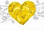 coraçao amarelo